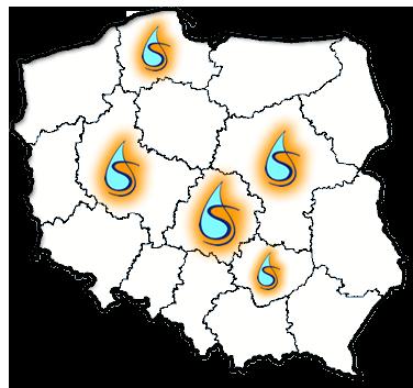 mapa wojew-k