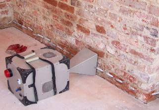Iniekcje budowlane w murach