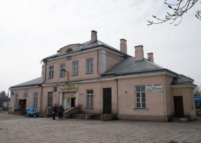 Dworzec PKP Trawniki