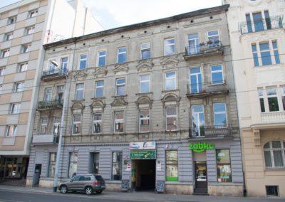 Kamienica staromiejska Łódź ul. Narutowicza 41