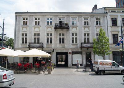 Kamienica staromiejska Łódź ul. Piotrkowska 142