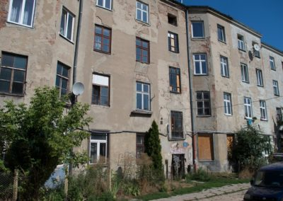 Kamienica staromiejska Łódź ul. Włókiennicza 15